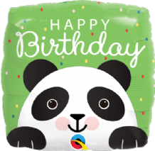 "Birthday Panda Foil Balloon (18"") 1pc"